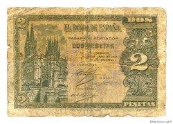 2 Pesetas ESPAGNE  1938 P.109a B