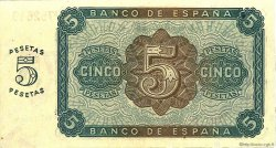 5 Pesetas ESPAGNE  1938 P.110a pr.NEUF