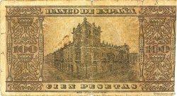 100 Pesetas ESPAGNE  1938 P.113 B