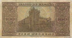 100 Pesetas ESPAGNE  1938 P.113 TB+