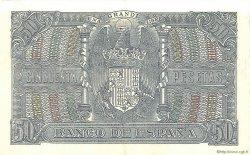 50 Pesetas ESPAGNE  1940 P.117 SUP à SPL