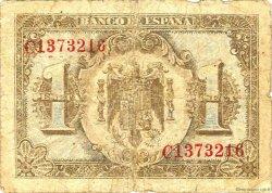 1 Peseta ESPAGNE  1940 P.121a B+