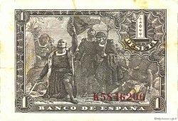 1 Peseta ESPAGNE  1943 P.126a SUP
