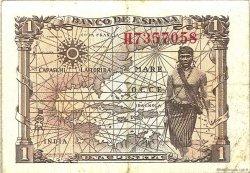 1 Peseta ESPAGNE  1945 P.128a SUP+