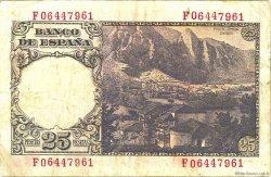25 Pesetas ESPAGNE  1946 P.130a TTB
