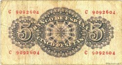 5 Pesetas ESPAGNE  1947 P.134a B+