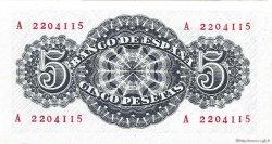 5 Pesetas ESPAGNE  1947 P.134a NEUF