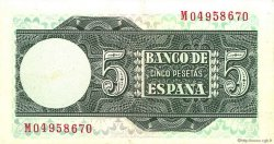 5 Pesetas ESPAGNE  1948 P.136a pr.SUP