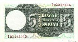5 Pesetas ESPAGNE  1948 P.136a pr.NEUF