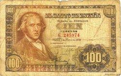 100 Pesetas ESPAGNE  1948 P.137a B
