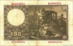 100 Pesetas ESPAGNE  1948 P.137a TB