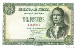 1000 Pesetas ESPAGNE  1949 P.138 SPL
