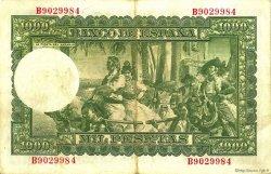 1000 Pesetas ESPAGNE  1951 P.143a TTB