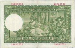 1000 Pesetas ESPAGNE  1951 P.143a pr.SUP