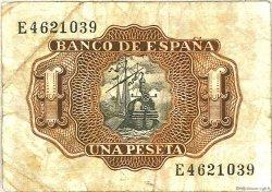 1 Peseta ESPAGNE  1953 P.144a TB