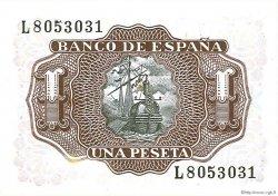 1 Peseta ESPAGNE  1953 P.144a NEUF