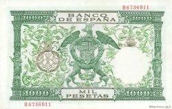 1000 Pesetas ESPAGNE  1957 P.149a SUP