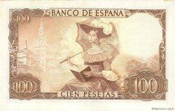 100 Pesetas ESPAGNE  1965 P.150 SUP