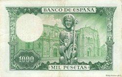 1000 Pesetas ESPAGNE  1965 P.151 TTB