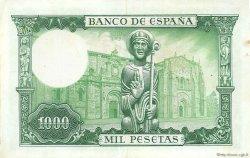 1000 Pesetas ESPAGNE  1965 P.151 TTB+
