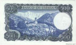 500 Pesetas ESPAGNE  1971 P.153a NEUF