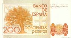 200 Pesetas ESPAGNE  1980 P.156 NEUF