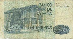 500 Pesetas ESPAGNE  1979 P.157 B