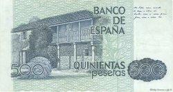 500 Pesetas ESPAGNE  1979 P.157 TTB