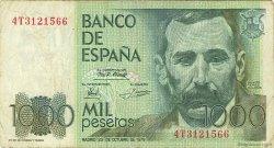 1000 Pesetas ESPAGNE  1979 P.158 TB+