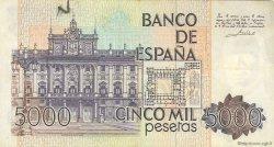 5000 Pesetas ESPAGNE  1979 P.160