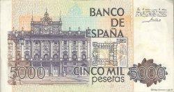 5000 Pesetas ESPAGNE  1979 P.160 SUP