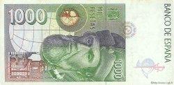 1000 Pesetas ESPAGNE  1992 P.163 TTB