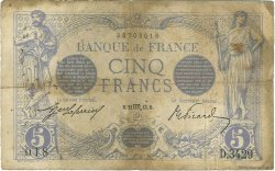 5 Francs BLEU FRANCE  1913 F.02.21 B+