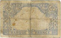 5 Francs BLEU FRANCE  1913 F.02.21
