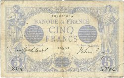 5 Francs BLEU FRANCE  1915 F.02.31 B+