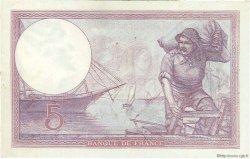 5 Francs VIOLET FRANCE  1925 F.03.09 TTB
