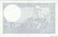 10 Francs MINERVE modifié FRANCE  1939 F.07.02 TTB+ à SUP