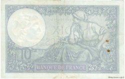 10 Francs MINERVE modifié FRANCE  1940 F.07.24 TTB+