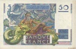 50 Francs LE VERRIER FRANCE  1946 F.20.01 SUP à SPL