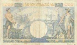 1000 Francs COMMERCE ET INDUSTRIE FRANCE  1940 F.39.01 TB+