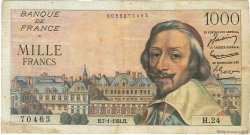 1000 Francs RICHELIEU FRANCE  1954 F.42.04 TB