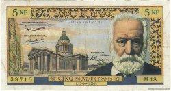 5 Nouveaux Francs VICTOR HUGO FRANCE  1959 F.56.03 TB