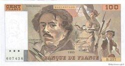 100 Francs DELACROIX 442-1 & 442-2 FRANCE  1995 F.69ter.02a SPL+