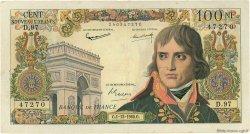 100 Nouveaux Francs BONAPARTE FRANCE  1960 F.59.09 aVF
