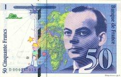 50 Francs SAINT-EXUPÉRY FRANCE  1992 F.72.01b pr.NEUF