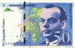 50 Francs SAINT-EXUPÉRY FRANCE  1993 F.72.02 SUP+