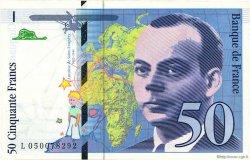 50 Francs SAINT-EXUPÉRY modifié FRANCE  1999 F.73.05 pr.NEUF