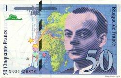50 Francs SAINT-EXUPÉRY modifié FRANCE  1999 F.73.05 SPL+