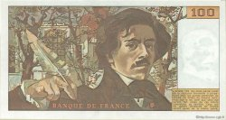 100 Francs DELACROIX FRANCE  1978 F.68.01 SPL+