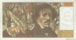 100 Francs DELACROIX FRANCE  1978 F.68.02 TTB+